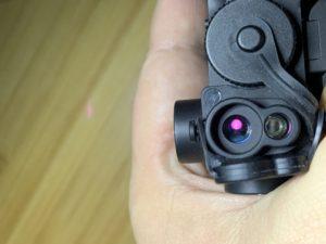 IR Laser Glow